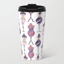 Vintage Dress Forms – Mauve Palette Travel Mug