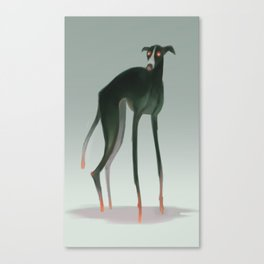 Demon Dog Canvas Print