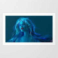 MELANCHOLY PILL Art Print