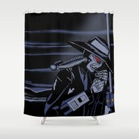 bane Shower Curtains featuring Galaxy Gangsters & Cad Bane by Princess Anakin