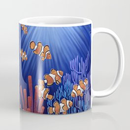 Clown Fish tank Coffee Mug