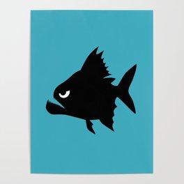 Angry Animals - Piranha Poster
