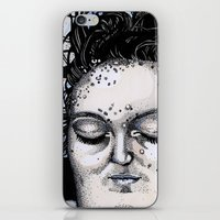 laura palmer iPhone & iPod Skins featuring Laura Palmer by Drawn by Nina