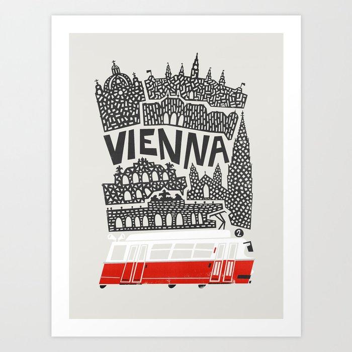 Vienna City Print Kunstdrucke