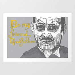The Godfather pt I Art Print