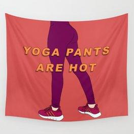 Yoga Pants Wall Tapestry