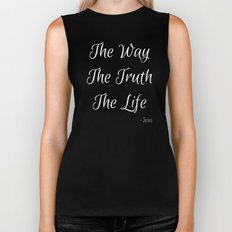Way, Truth, Life Biker Tank