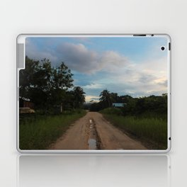 Beauty of a Mud Road Laptop & iPad Skin