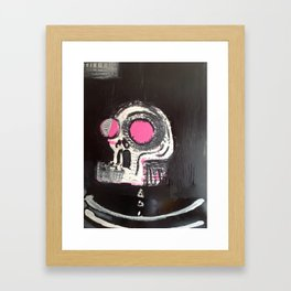 big skull Framed Art Print