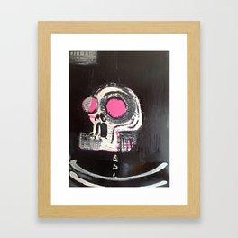 big skull Framed Art Print