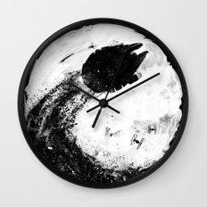 Midnight Awakening Wall Clock