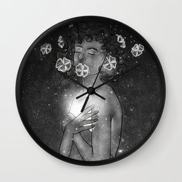the shine of your deep soul. Wall Clock