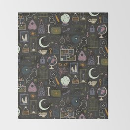 Haunted Attic Throw Blanket