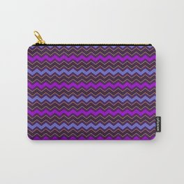 Happy night chevron/zigzagging pattern v.1 Carry-All Pouch