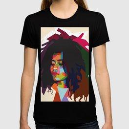 beautiful frizzy girl T-shirt