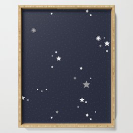Starry Night Sky Serving Tray