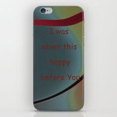 I was never iPhone & iPod Skin