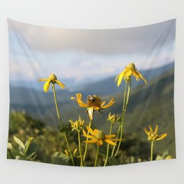don't worry, bee happy. Wall Tapestry