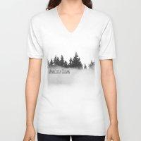 minnesota V-neck T-shirts featuring Minnesota Grown  by Irislynn