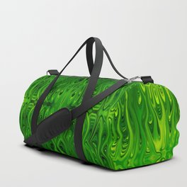 Toxic Squid by Chris Sparks Duffle Bag