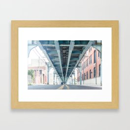 North Philly Framed Art Print