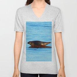 Wet Seal on a Rock Unisex V-Neck