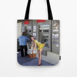 Sucked In Tote Bag