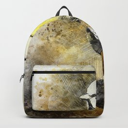Blue Tit Bird Feathered Backpack