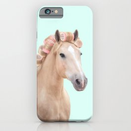 PALOMINO HORSE iPhone Case