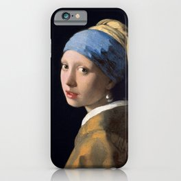 Johannes Vermeer - Girl with a Pearl Earring iPhone Case