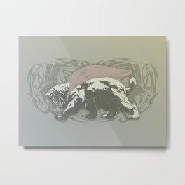 Fearless Creature: Saba Metal Print