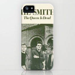 Smiths - The Queen Is Dead iPhone Case