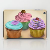 cupcakes iPad Cases featuring Cupcakes!  by Megs stuff...