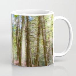 Forest Motion Blur Coffee Mug