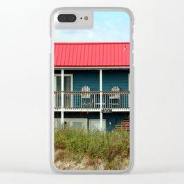 Coastal Home Clear iPhone Case