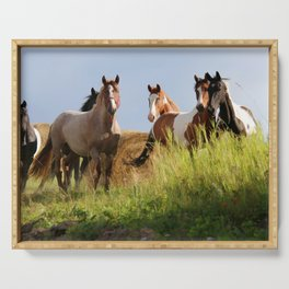 The Wild Bunch-Horses Serving Tray