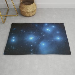 Taurus Constellation, Pleiades star cluster Rug