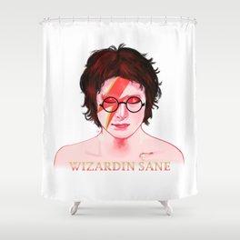 Wizardin Sane Shower Curtain