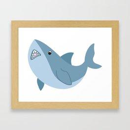 Shark Attack! Framed Art Print