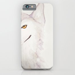 Smug Wolf iPhone Case