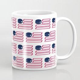 USA Hockey Flag Coffee Mug