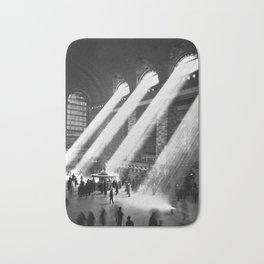 1935 Vintage New York City Grand Central Terminal Photographic Print Bath Mat