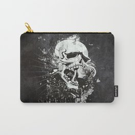 Dark Gothic Skull Carry-All Pouch