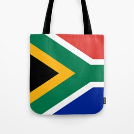 Flag of South Africa, Authentic color & scale Tote Bag