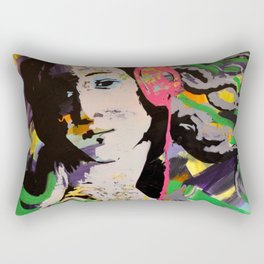 Music is what feelings sound like - II Rectangular Pillow