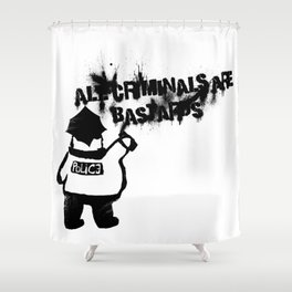 All Cops Shower Curtain