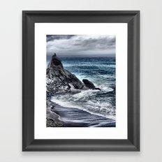Cold Sea II Framed Art Print