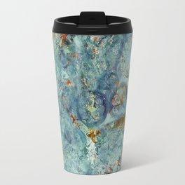 Cellular (Blue) Travel Mug
