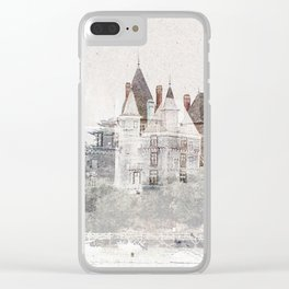 - cast - Clear iPhone Case