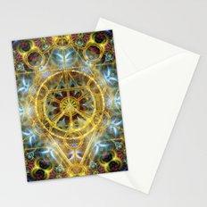 Sacred Geometry Fractal Mandala Stationery Cards